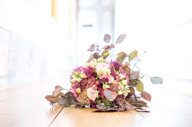 Blumen im Standesamt