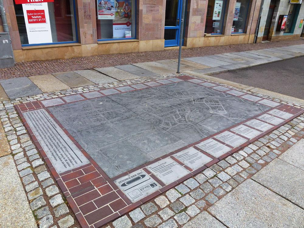 Lageplan zur Industriegeschichte (Rochlitzer Straße)