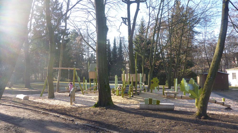 Fertigstellung Kinderspielplatz
