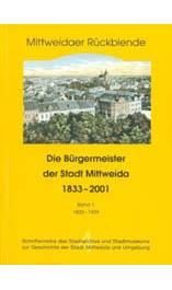 Bürgermeister der Stadt Mittweida 1833 – 1929
