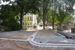 Neue Zufahrts- und Parksituation von der Leisniger Straße