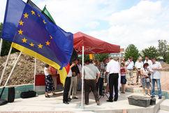 Grundsteinlegung Freibad, 13.07.2010