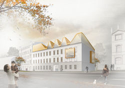 Blick vom Parkweg, © Raum und Bau GmbH, Dresden