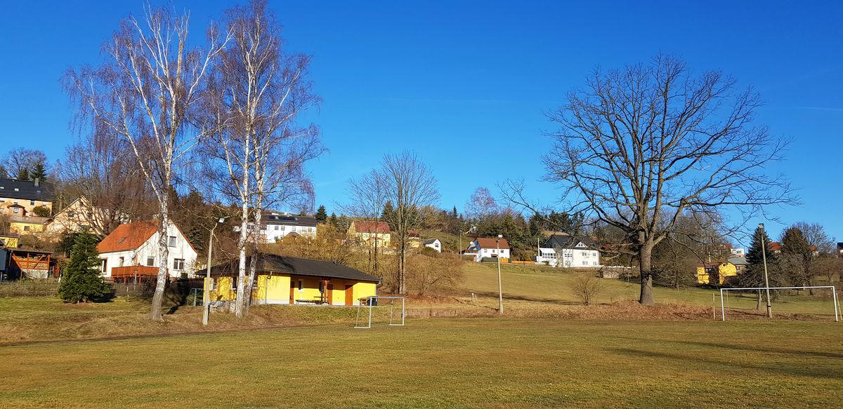 Fußballplatz in Ringethal
