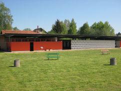 Ansicht Sozialgebäude, 2009